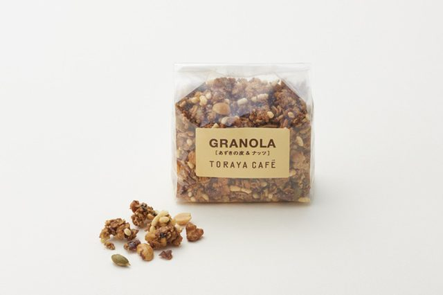 画像: TORAYA CAFÉが、小豆の皮を使ったグラノーラの販売をスタート。