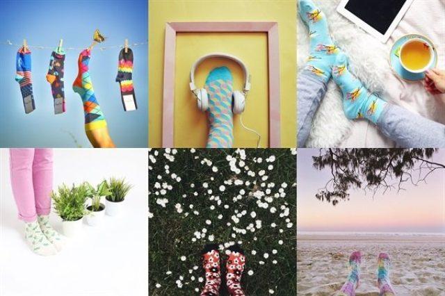 画像: 【Instagram】Happy Socks公式アカウントでリグラムされてる写真が素敵すぎる!
