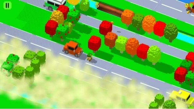 画像: 中毒性抜群!危険な道路を横切るシンプルアクション『Crossy Streets』