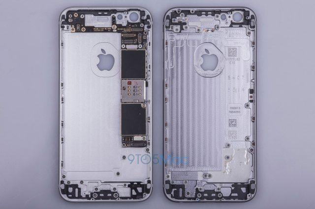 画像: iPhone 6sと思われる背面ケースがリーク!現行モデルと比較して若干の変更のみにとどまる?!
