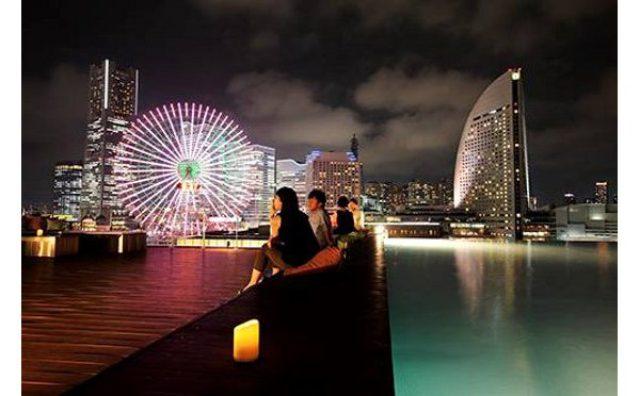 """画像: 270度パノラマで横浜の夜景を楽しむ""""極上デートスポット""""がオープン!"""