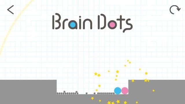 """画像: あの""""BrainWars""""に新作登場!物理演算を使った脳トレゲーム『Brain Dots』"""