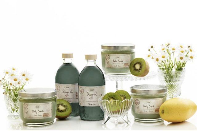 画像: SABONで人気の夏の香り「マンゴー・キウイ」が今年もお目見え。