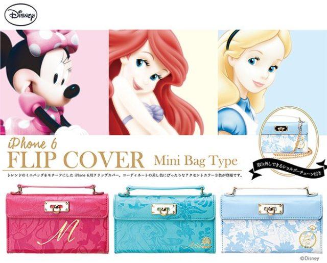 画像: ディズニーの肩掛けミニバッグ風iPhoneケースが超絶かわいい♡
