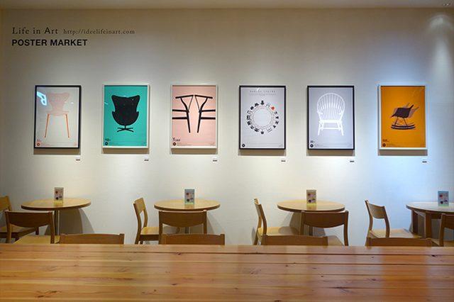 画像: 「イデー Life in Art」にポスター専門店「KNAPFORD POSTER MARKET」がお目見え!
