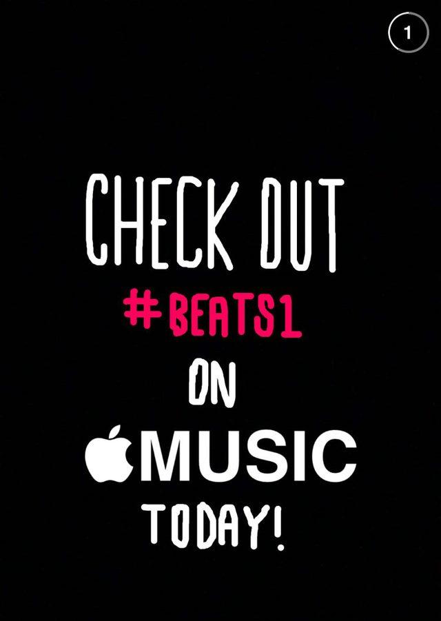 画像: Apple Musicイチオシの「Beats 1」ラジオ、ただいま舞台裏をSnapchatで配信中!