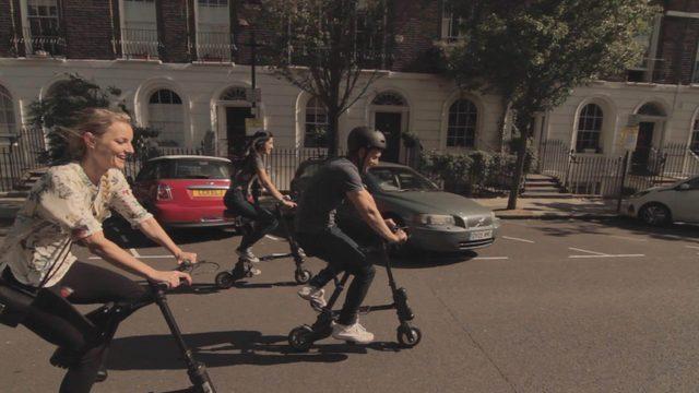 画像: 10秒でサッとたためて、サッと走れる。そんな電動コンパクト自転車がKickStarterに登場!