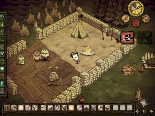 画像: 知恵と工夫で生きのびろ!究極のサバイバルゲーム『Don't Starve: Pocket Edition』