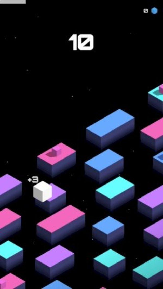 画像: ハイスピードなテンポが快感♪中毒性の高いシンプルアクション『Cube Jump』