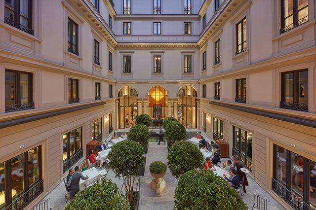 """画像: """"ファッションの都""""ミラノに、「マンダリン オリエンタル ミラノ」が開業。"""