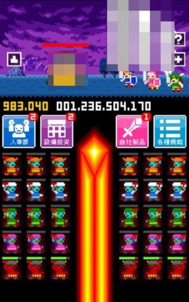 画像: クリッカーゲーム『かじやかんぱにー』は、営業戦士と内勤鍛冶屋の過労気味な戦いの記録である。