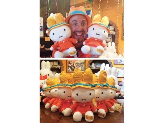 画像: 完璧なるコラボ!ニコラシャールのトレードマーク「オレンジ色のうさ耳帽子」をかぶったミッフィーが可愛すぎる!