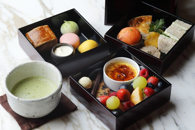 画像: 美食の秋到来! 「パレスホテル東京」が、秋の彩りや旬の食材を取り入れたアフタヌーンティーを提供。
