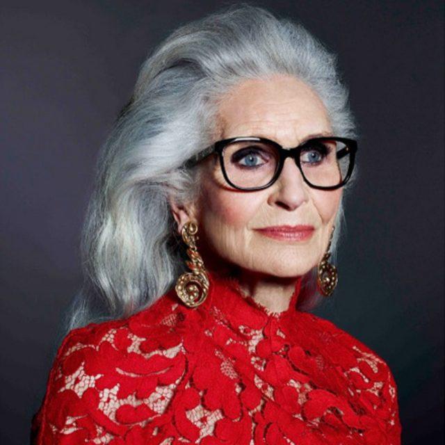 画像: 歳を重ねるほど美しい! 世界最高齢、87歳スーパーモデルのダフネ・セルフ。(Maki Saijo)