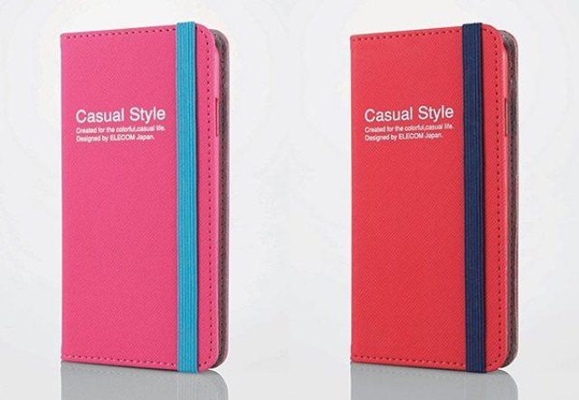 画像: ツートンカラーが可愛いノートみたいな『CASUAL COVER for iPhone 6』