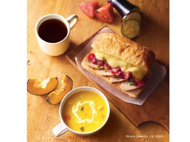 画像: エクセルシオール カフェに、秋の食欲をそそるローストチキン&ラタトゥイユのチャバッタなど秋の新作登場!!