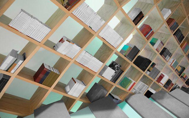 """画像: まるで夢の世界!本棚に囲まれた""""ドーム型図書館""""が素敵すぎる"""