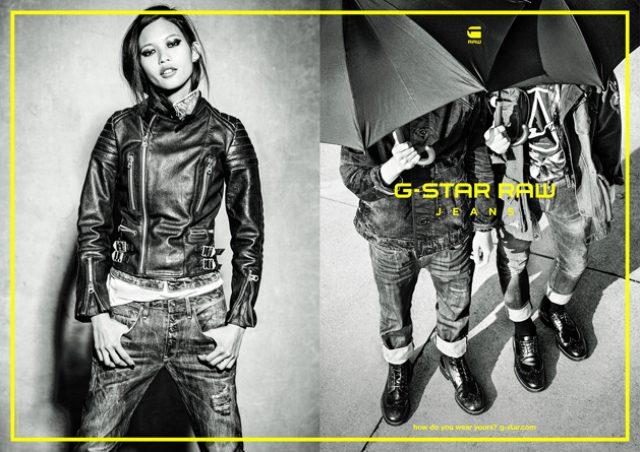 画像: ジースター ロゥの広告キャンペーン、今季もエレン・フォン・アンワースが撮影!