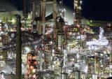"""画像: """"工場萌え女子""""必見!実際に行ける工場を集めた「夜景写真展」が開催"""