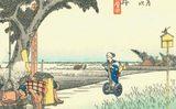 """画像: 東海道の旅にセグウェイ導入!?""""動く浮世絵作品""""が世界中で話題!"""