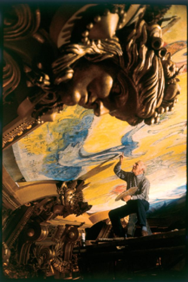 画像: 9月18日(金)からパリ・オペラ座の制作過程に迫るII期がスタート! 帝国ホテルプラザの『「シャガールを撮った写真家・イジス」写真展』。