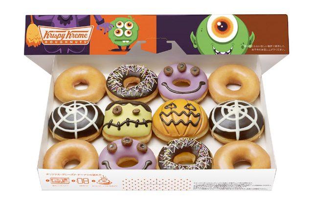 画像: ジャックランタン、フランケンなどモンスタードーナツも! クリスピー・クリーム・ドーナツがハロウィン限定ドーナツ4種を発売。
