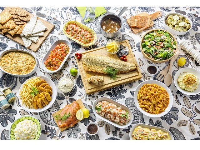 画像: 16種類のサーモン料理が999円で食べ放題!イケア「サーモン フェスティバル」開催