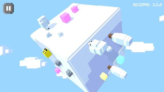 画像: 見えないところも想像しちゃう?激ムズ立体スネークゲーム『Cube Worm』