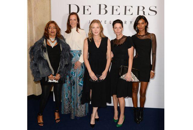 画像: 輝く女性たちがロンドンに集結!デビアスの『Moments in Light』披露パーティ。