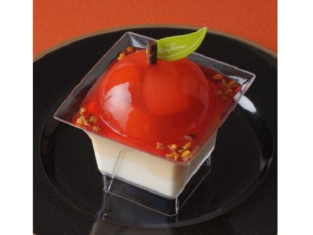 画像: 【銀座コージーコーナー】つやつやの真っ赤なジュレはため息もの!!今すぐ食べたいりんごの新作スイーツ