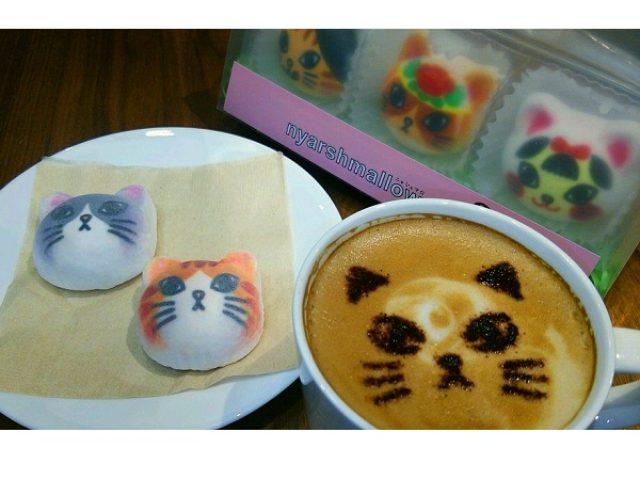 画像: MORIOKA TSUTAYAで猫部フェア開催!盛岡限定ニャシュマロや特製ラテニャートが登場にゃ~!!