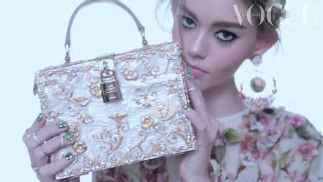 画像: フレッシュな新星オンドリア・ハーディン_2014年3月号カバー撮影_Vogue Japan