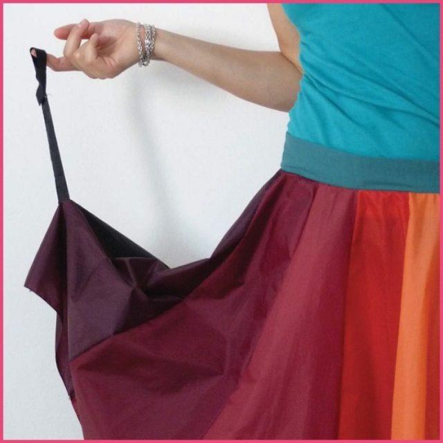 画像: お気に入りの傘がスカートに!真似したくなる素敵なDIYファッション