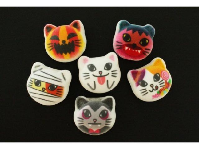 画像: 箱を開けたら猫の耳つきお化けが出たぁ~!!今宵はオオカミ男がマシュマロに変身してお菓子を貰いにいくにゃん!!