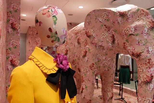 画像: グッチのアレッサンドロ・ミケーレによるインスタレーションがドーバー ストリート マーケット ギンザに登場。