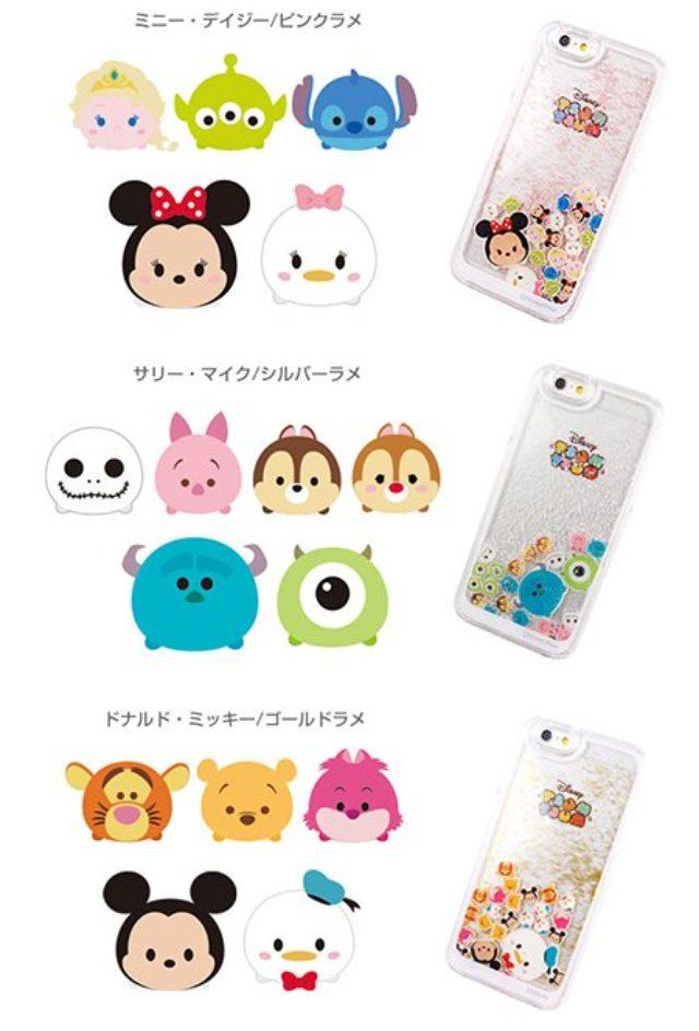 画像: ツムツムがゆらりと揺れるスノードームのようなiPhoneケースが可愛い♡