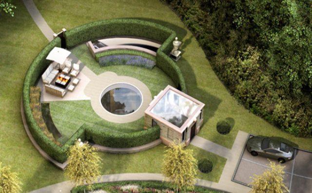 """画像: 究極のエコ&ラグジュアリー!?あえて""""地下""""に建てられた超高級住宅とは?"""