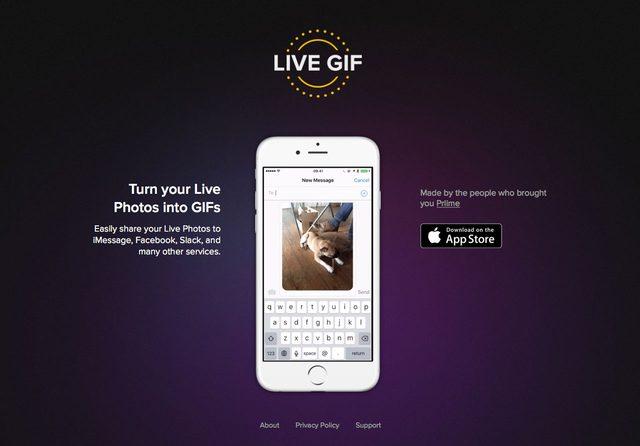 画像: iPhone 6sシリーズで追加されたLive Photosを手軽にGIFへ変換!Live GIFはとても便利で簡単!