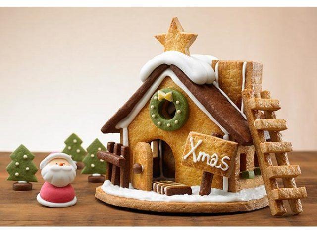 """画像: クリスマスにぴったり!焼いて楽しむ、組み立てて楽しむ、""""お菓子のおうち""""登場"""