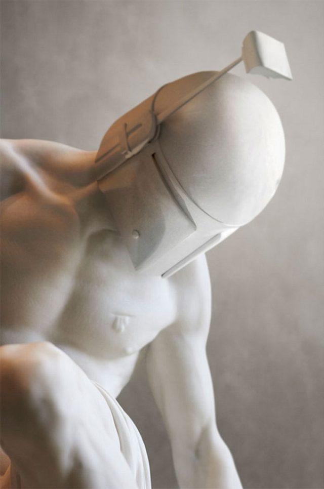 画像: ダース・ベイダーやヨーダも!ギリシャ彫刻になった「スター・ウォーズ」が秀逸