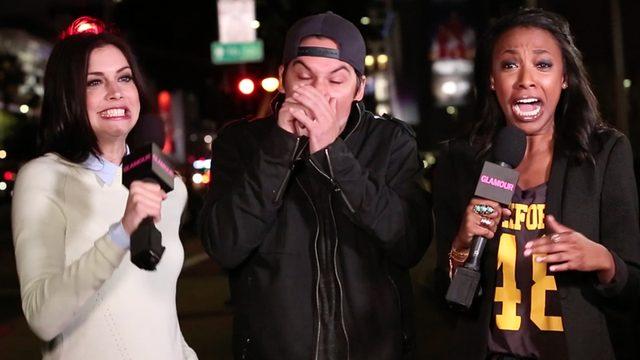 画像: ハプニング集-セックスライフの街頭インタビューにて