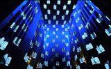 """画像: ホーキング博士の""""宇宙論""""をアートにしたプロジェクションマッピングが美しすぎる"""