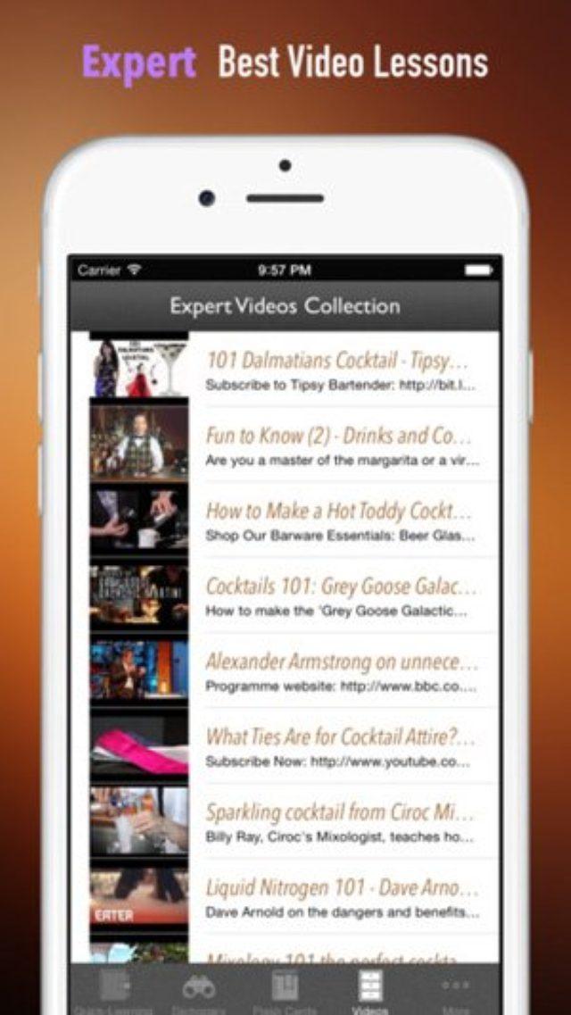 画像: まるでバーテンダーの手帳!オシャレで使える『カクテル百科事典』アプリ♫