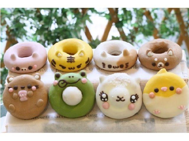 画像: 東京チョコレートショー「ことりカフェ」ブースに愛らしい「イクミママのどうぶつドーナツ」が出品決定!!