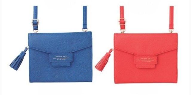画像: 鞄や財布としても使えるMARK'Sの万能スマホポーチ付きアクセサリーが可愛い♡