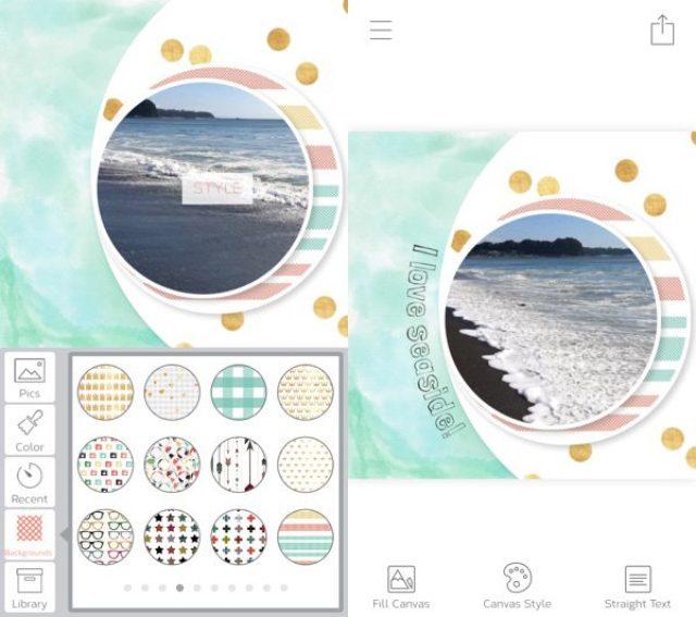 画像: とびきりカワイイ♡写真やビデオも取り込める編集アプリ『Rhonna Collage』