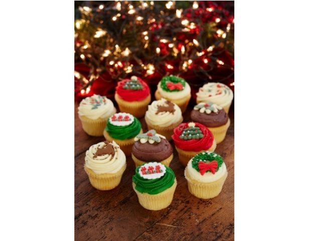 画像: なんて可愛い!ローラズ・カップケーキ東京がクリスマスのテーブルを彩る6種類のカップケーキを発売!!