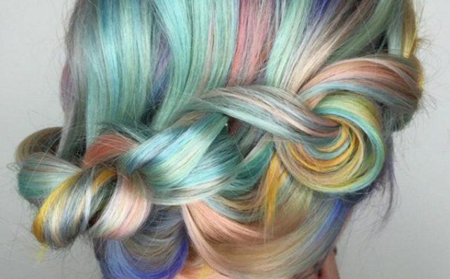 """画像: アメリカで新たなヘアトレンドに?色とりどりの""""マカロンヘアー""""がかわいい♪"""