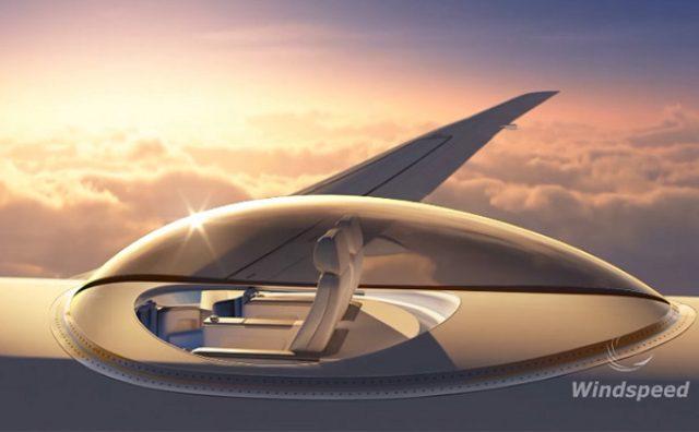 画像: スリルは異次元級!?展望カプセル付きのラグジュアリー飛行機「スカイデッキ」がすごい