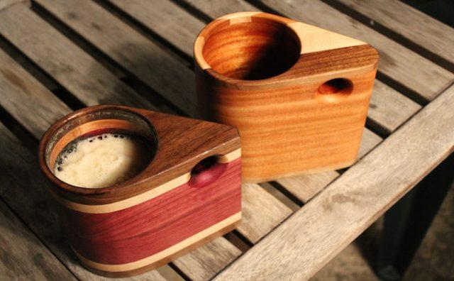 画像: 木製のビールマグ?ブルックリン発のモダンデザインが新しい!